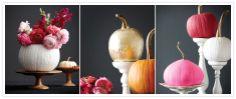 Fall DIY Round-up   Painted Pumpkins