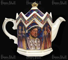 Henry VIII sadler teapot  .. I  actually have this teapot...
