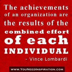 Achievements organization
