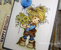 Copic Deutschland Blog: Happy Birthday - Amy gratuliert