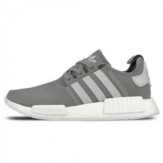 577aa97ba Original Running Shoes Adidas NMD R1 Runner Charcoal Solid Grey Light Solid  Grey Footwear White Sale