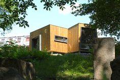 Hospitales de Noruega construyen cabañas para sanar pacientes con naturaleza Reduce Stress, Norway, Wellness, Outdoor Structures, Cabin, Nature, Happiness, Vestidos, Forest Bathing