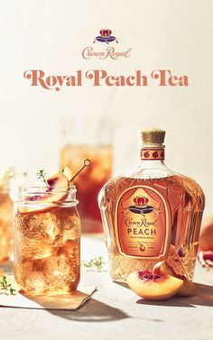 When we say we're pouring sweet tea, we mean it. Crown Royal Peach is back and just in time to make a refreshing tasting summertime cocktail for you and your friends. Hurry - this mouth-watering blend is only here for a limited time, so make sure you get your hands on this sweet treat. Cheers! Recipe: Royal Peach Tea Ingredients - 1.5 oz Crown Royal Peach - 6.0 oz Iced Tea - Fresh Lemon