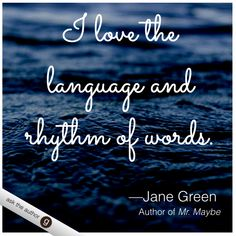 Jane Green answering questions from readers on Goodreads! #AskTheAuthor
