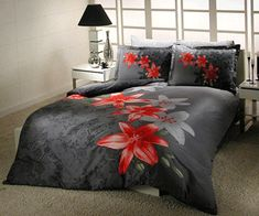 Black Bedding Sets For Romantic Bedroom Decor