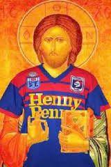 Jesus shown wearing a Nrl Jersey