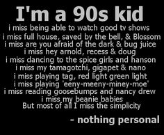 Those Were the '90s! — nycheartsme: i'm a 90s kid