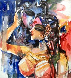 pepup street, radha krishna, hindu mythology, India, contemporary art, pep up street