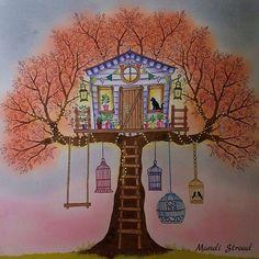 #secretgarden #johannabasford #adultcoloring