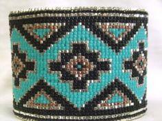 Desert Sage Bead Art: NEW - Beaded Cuffs