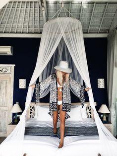 Bedroom goals in Bali ☁️