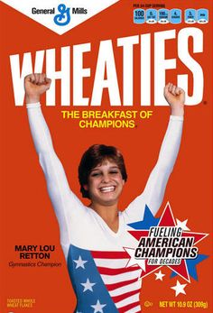In 1984 when Mary Lou won the Gold Metal...folks use to stop me and ask if I was her! Smile Maker for sure!