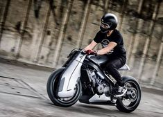 K-Speed Honda Bros 400 Futuristic Custom Cafe Racer