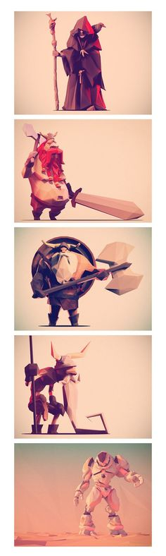 Low Poly Characters ...: