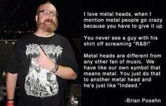 "Brian Posehn on ""metal"""