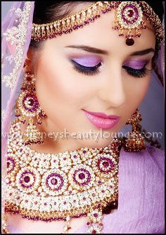1800's make up | Indian Bride | Imagineering a Beautiful World