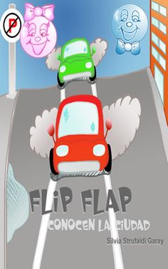 En este libro Flip Flap y daban un paseo en la ciudad. Ven un montón de coches, muchos edificios altos y personas diferentes. Ven con Flip y Flap y descubrir lo bueno que es jugar en la ciudad.