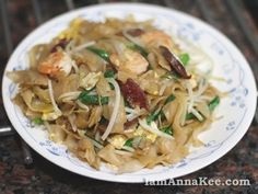 Malaysian Fried Flat Noodle - Char Kway Teow