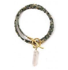 Gemstone & Crystal Necklace or Bracelet
