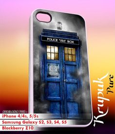 Tardis dark Fog   iPhone 4/4s/5/5c/5s Case  Samsung by kyupuk, $14.50