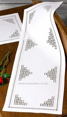 Shop online for Hardanger Table Runner Embroidery Kit at sewandso.co.uk. Browse our great range of cross stitch and needlecraft products, in stock, with great prices and fast delivery.