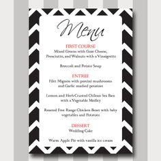 Vintage Rustic Elegant Steampunk Wedding Menu Card - Double Sided ...