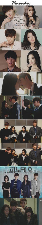 Pinocchio ( 피노키오 ) kdrama 2015 - 20 episodes - Lee Jong-Suk  / Park Shin-Hye / Kim Young-Kwang / Lee Yoo-Bi / Lee Pil-Mo