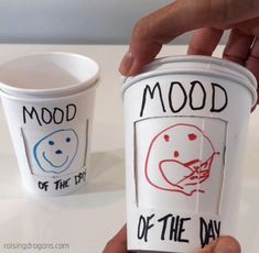 Mood of the Day Cups