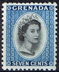 Grenada 1953 Queen Elizabeth Head SG 199 Fine Mint    SG 199 Scott 178       Condition Fine MNH    Only one post charge applied on multipule