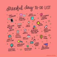 Todays to-do list.