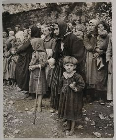 David Chim Seymour - Orphans of the Greek War Circa 1948 - original photograph