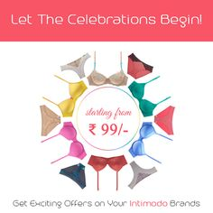 Get exciting festive offers at Online Women #Lingerie Shopping  #womenwear #lingerieshopping #onlineshopping