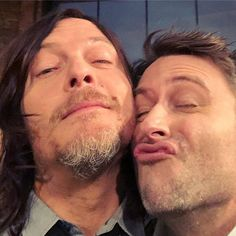 """Norman & Chris after S8; """"Monsters"""""""