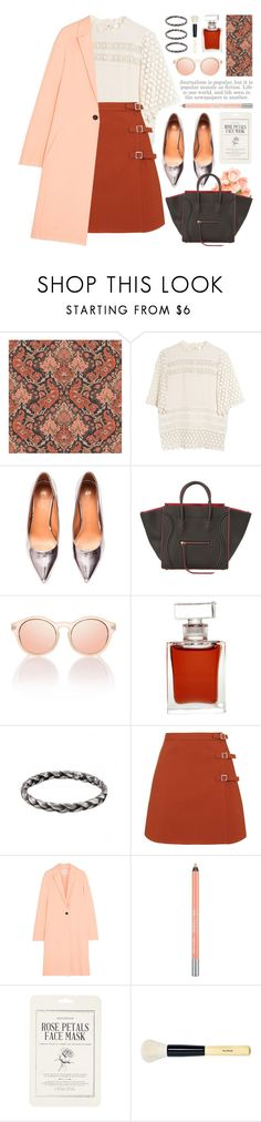 """""""join our new contest (view description)"""" by jesuisunlapin ❤ liked on Polyvore featuring Cole & Son, Line + Dot, H&M, CÉLINE, Le Specs, Yosh, Topshop, Cédric Charlier, Urban Decay and Forever 21"""