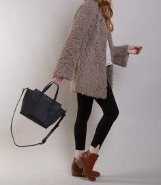 Meles Leather Handbag