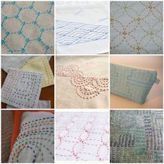 Elven Garden Quilts: Sashiko Tutorial {Something New Blog Hop}