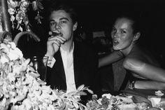 Leonardo Di Caprio and Kate Moss
