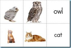 Mommy & Baby Animals ~ Matching Printables {free}