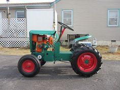 Yesterday's Tractors - Antique Garden Tractor Photos - Gemco Big Boy