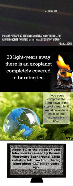 18 Fascinating and Random Facts About the Universe - soooo cool!