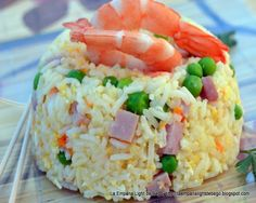 arroz 3 delicias Grains, Rice, Queso, Food, Rice Salad, Food Recipes, Best Recipes, Eating Clean, Meals