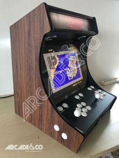 Arcade Bartop, Arcade Machine, Custom Cabinets, Diy Wood, Arduino, Arcade Games, Wood Furniture, Board Games, Console