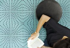 Motif Eventail, design Mini labo - photo Virginie Perocheau