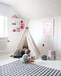 Love the tipi and the mat!