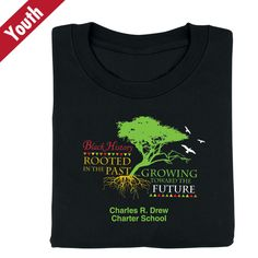 Rooted In The Past, Growing Toward The Future Personalized Youth T-Shirt