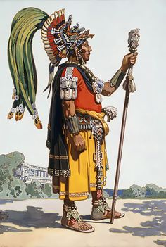 """Maya noble"", H. M. Herget"