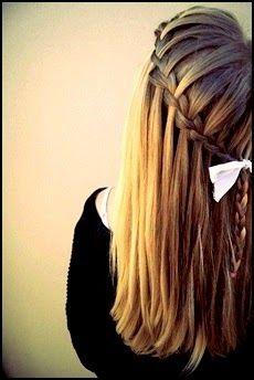 Okul İçin 5 Kolay Saç Modeli ~ Kadife Kırmızı