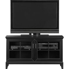 """Paterson Black 48"""" Media Console in Media Stands, Consoles 