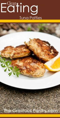 Tuna Patties. Perfect for brunch, lunch or a light dinner!