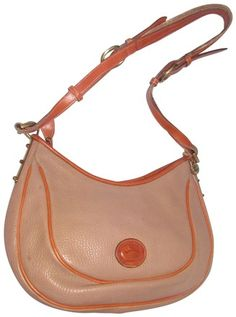 7910e2f78b6c Dooney   Bourke Awl All Line Early D b Mint Vintage Rare Style Hobo Bag